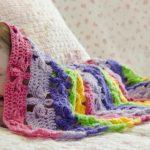 Bahar Çiçekleri Battaniye Nasıl Yapılır?