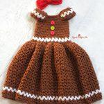 Tığ İşi Örgü Kız Çocuk Elbise Yapılışı