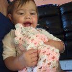Tunus işi Keman Bebek Battaniyesi Yapılışı