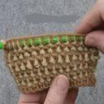 Pirinç örgü yapılışı iki renkli (videolu anlatım)