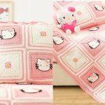 Hello Kitty Bebek Battaniyesi Nasıl Yapılır?