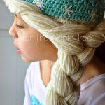 Örgü Prenses Elsa Tacı ve Saçı Yapılışı Anlatımı