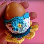 Örgü Tavuklu Yumurta Tutucu Kabı Yapımı