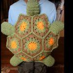 Tığ İşi Kaplumbağa Çocuk Çanta Yapılışı
