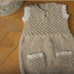 3-6 ay Nohut Modeli Bebek Elbisesi Yapılışı videolu