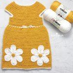 4 Yaş Örgü Kız Çocuk Elbise Yapılışı