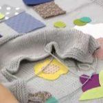 Kumaş Aplikeli Bebek Battaniyesi Nasıl Yapılır? videolu anlatımı