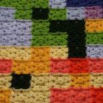 Renkli Küçük Kare Motif Battaniye Yapılışı