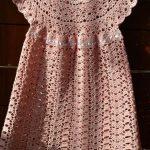 Tığ işi Çocuk Elbisesi Yapımı