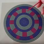 Wayuu Çanta Yuvarlak Tabanı Şeması ve Yapılışı videolu