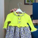 4 Mevsim Örgü Çocuk Elbise Yapılışı