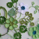 Tunus işi Çiçek Motifi Yapılışı Resimli