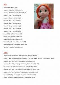 Amigurumi Bebek Yapımı | Amigurumi oyuncak bebek, Amigurumi ... | 300x212