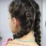 Sahte Ters Örgü Modeli Yapılışı Okul saçı örnekleri yapılışı