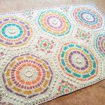 Kabartmalı Mozaik Battaniye Yapılışı videolu