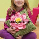 İlkbahar Çiçekli Kırlent Modeli Yapılışı