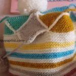 Uçları Ponponlu Soytarı Model Bebek Bere Yapılışı