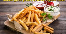 Yağsız Patates Nasıl Kızartılır?