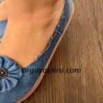 Eski Kot Pantolondan Babet Ayakkabı Yapılışı