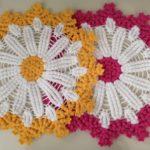 Çiçekli yuvarlak lif modeli